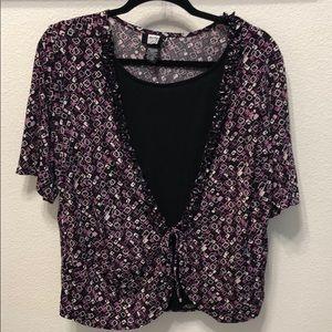 💥4/$18💥 Purples & Black Blouse